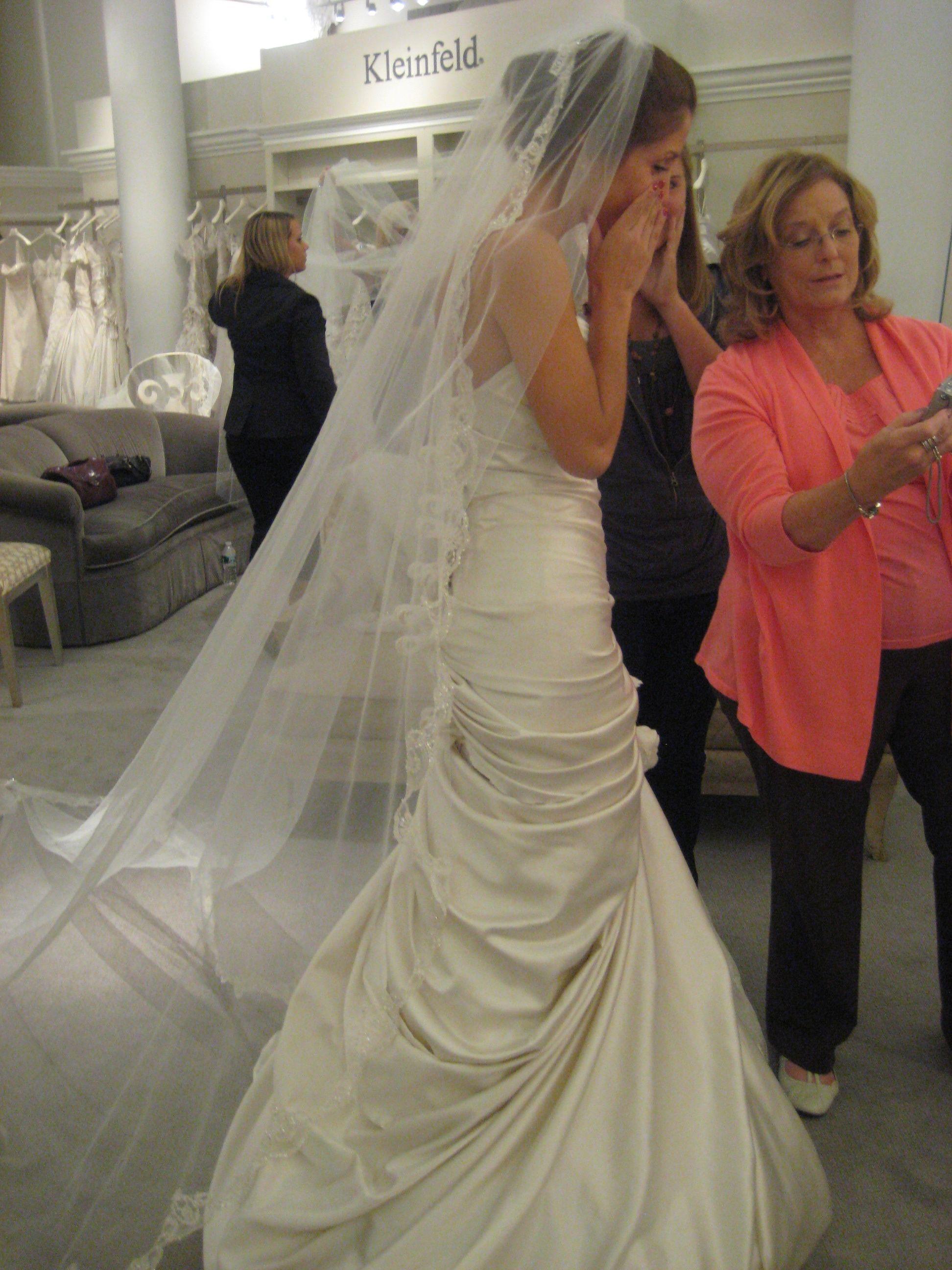 SO HAPPY! At Kleinfeld Lace weddings, Wedding, Dresses