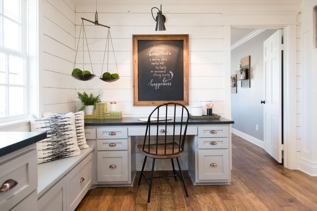 Fixer Upper Vintage Home Offices Farm House Living Room Living