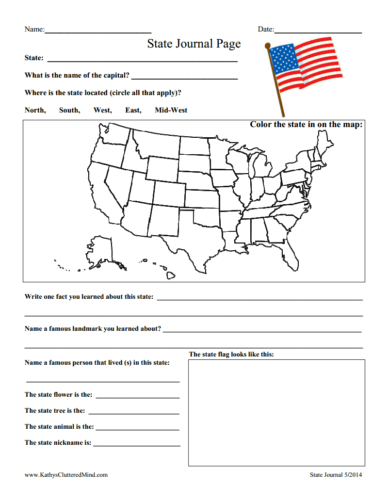 state journal page.pdf - Google Drive   Social studies worksheets [ 1035 x 800 Pixel ]