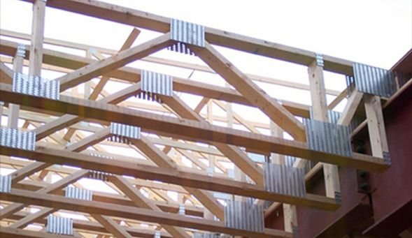 2x4 Truss For Ceiling Mechanical Amp Insulation In 2019