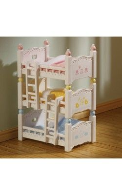 Triple Bunk Beds Triple Bunk Beds Bunk Beds Sylvanian Families