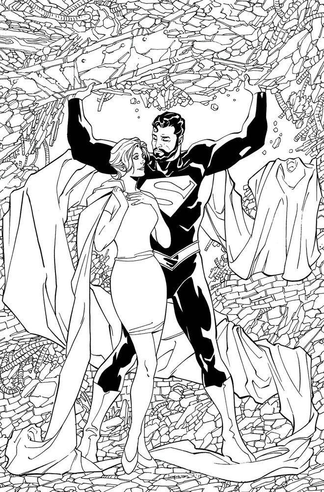 Image: Superman: Lois and Clark #4 (DCU variant - Adult Coloring ...
