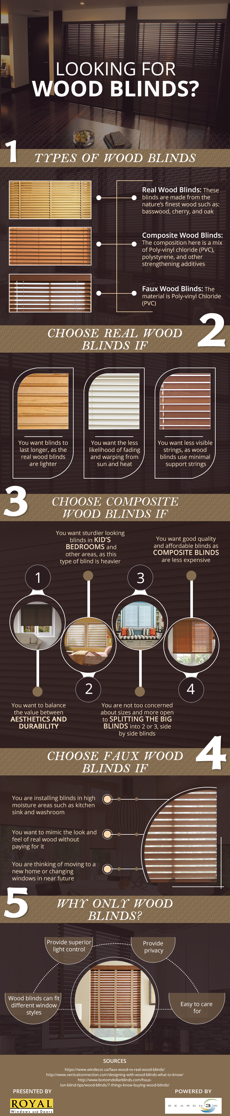 If you are thinking of moving to a new home or changing windows in near future. Checkout this infographic which provide in-depth information of wood blinds for your home. https://royalwindowtreatments.center/different-kinds-wood-blinds-home-2/