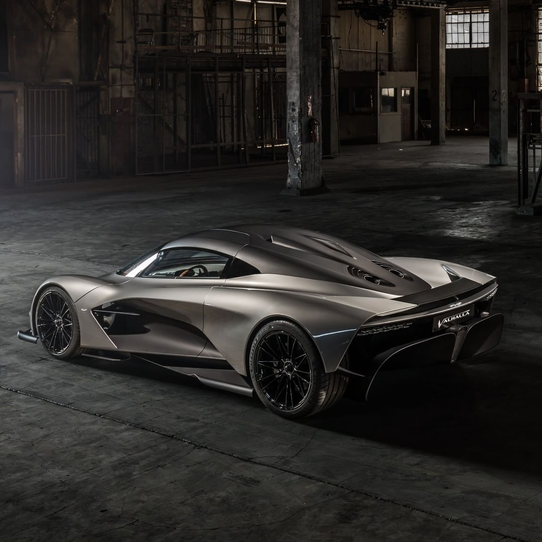 Aston Martin Valkyrie Rear: Sharing The Same Fundamental Styling And Aerodynamic