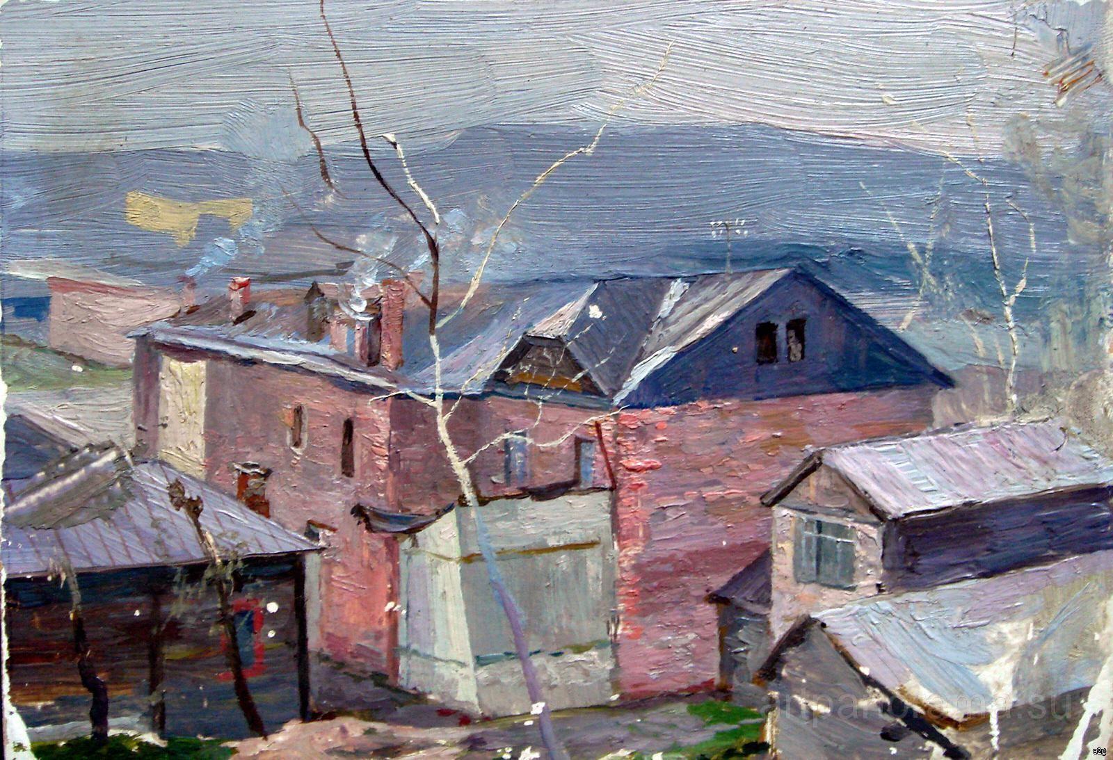Кузнецов-Волжский картины