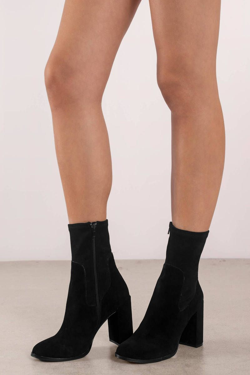d7a9849efb17 Chinese Laundry Charisma Suede Booties in 2018