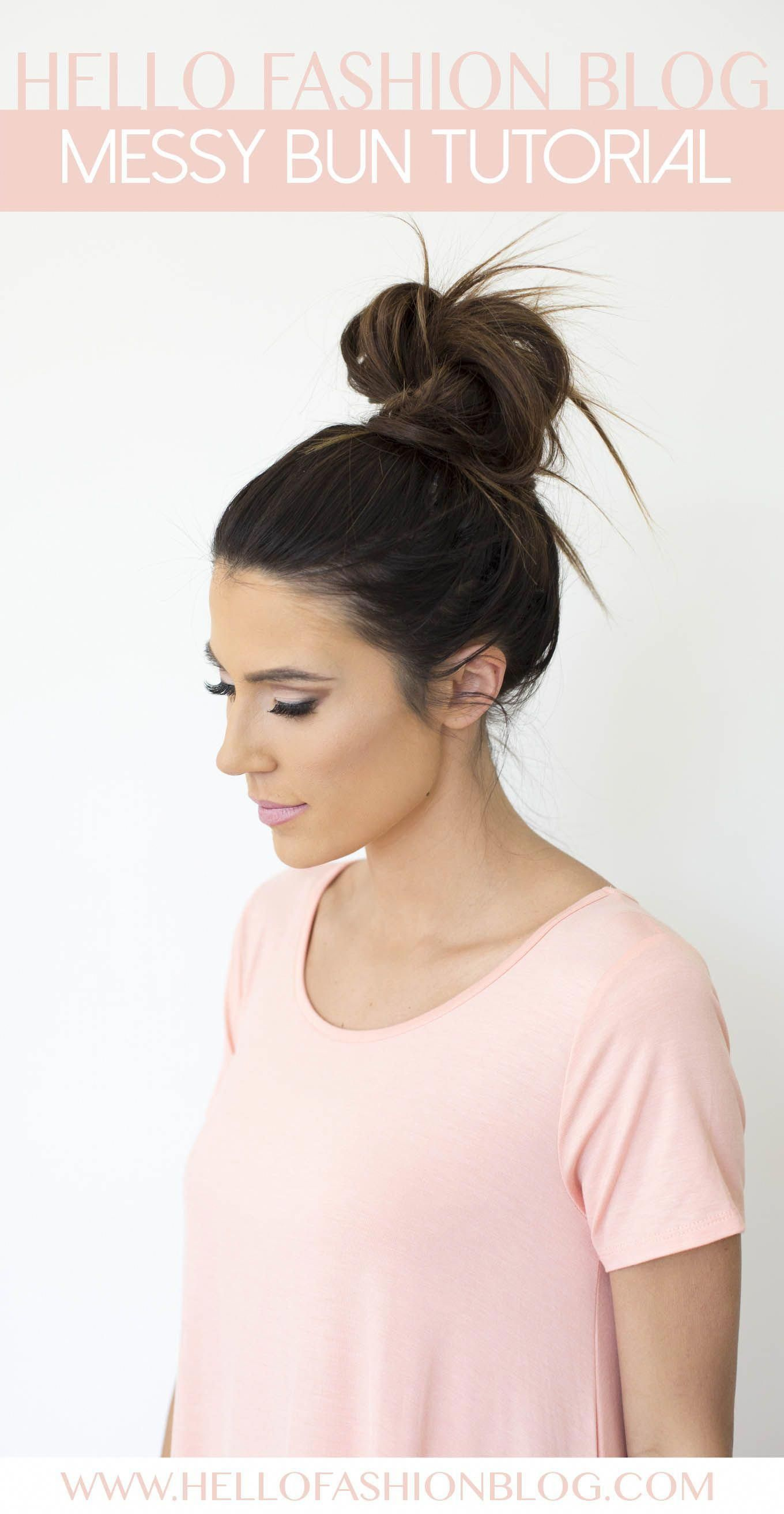 A few tips and tricks to approve the perfect messy bun. A look that is effortless and perfect for every day of the week. #messyUpdos #lowsidebuns