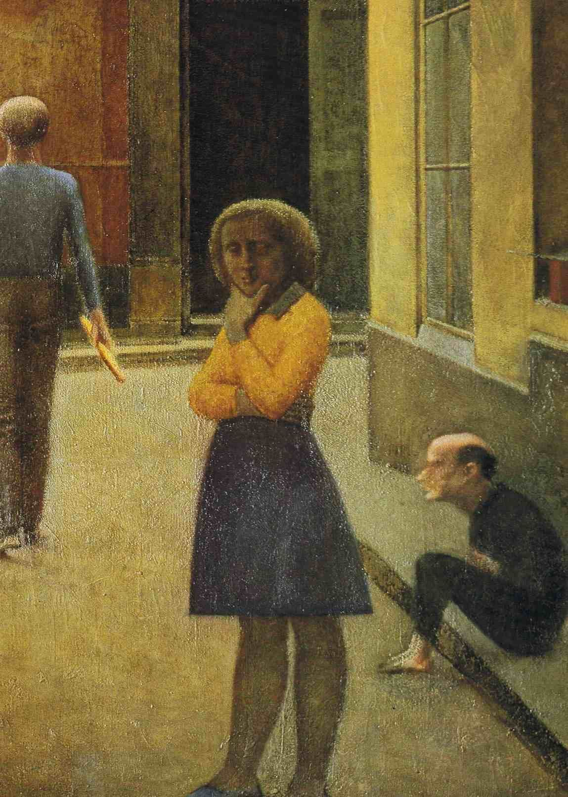 La Chambre Turque Balthus Balthus Paintings Balthus Paintings A Primal Silence Detail
