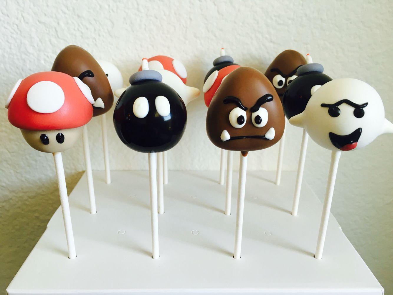 Super Mario Bros Cake Pops Mario Bros Cake Mario Bros Party