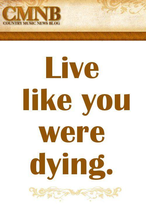live like we re dying tim mcgraw lyrics