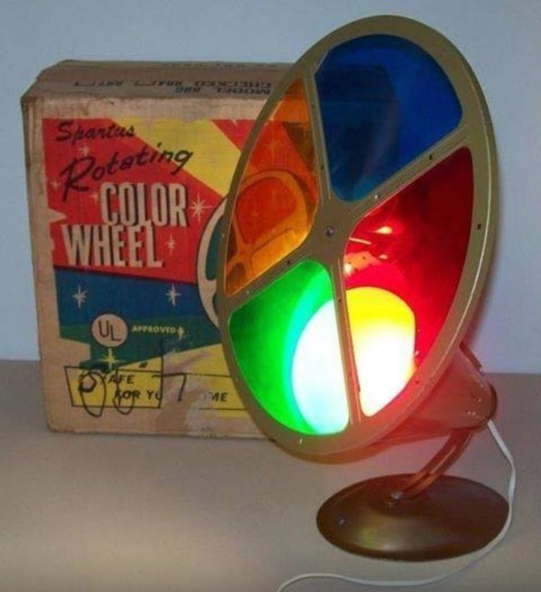 Remember these? | Aluminum christmas tree, Color wheel ...