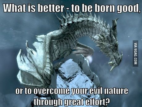 One Of The Memorable Badass Lines From A Game Skyrim Skyrim Quotes Video Game Quotes
