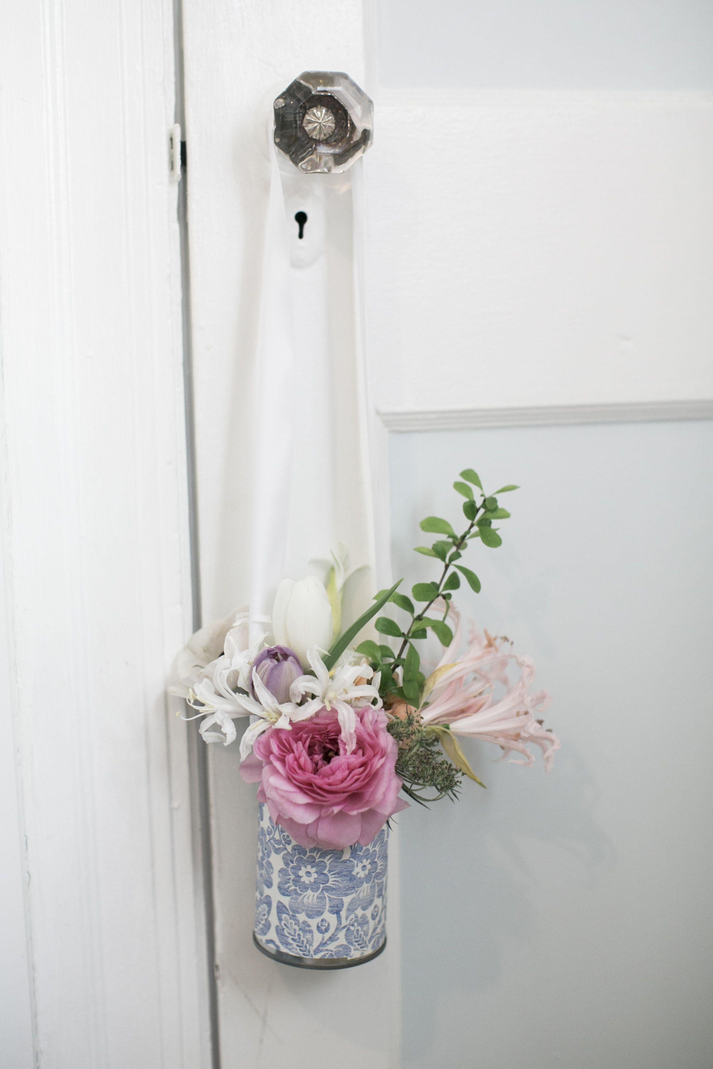 May Day Door Hanger Arrangements by Valley & Company Events