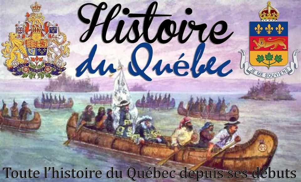 canada histoire et quebec-