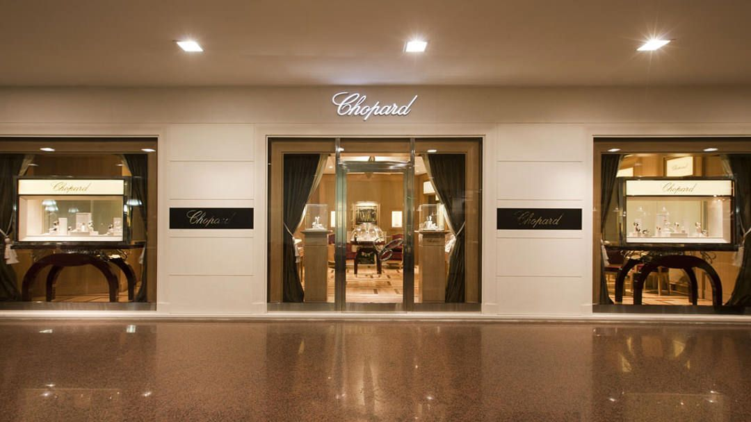 Chopard boutique bologna entrance1 shop front trong for Boutique bologna
