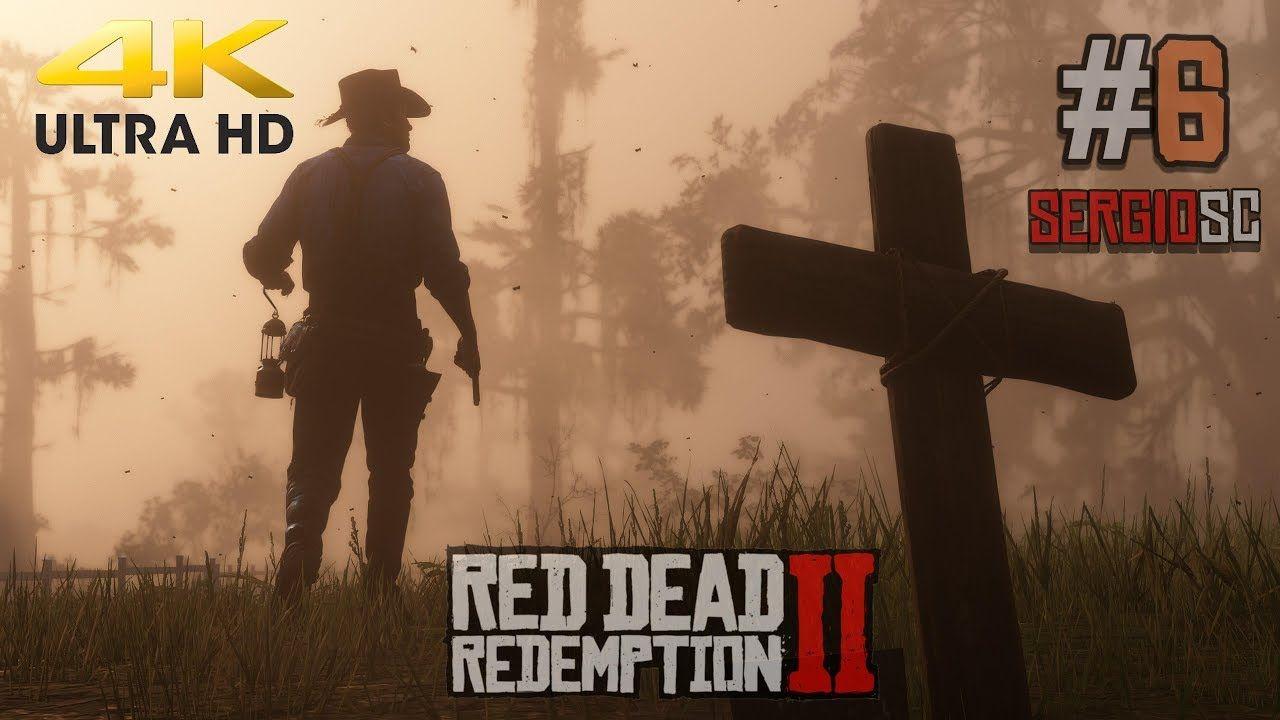Red Dead Redemption 2 Gameplay 6 Directo Español 4k Quiero Ser Cowboy Juegos Pc Juegos