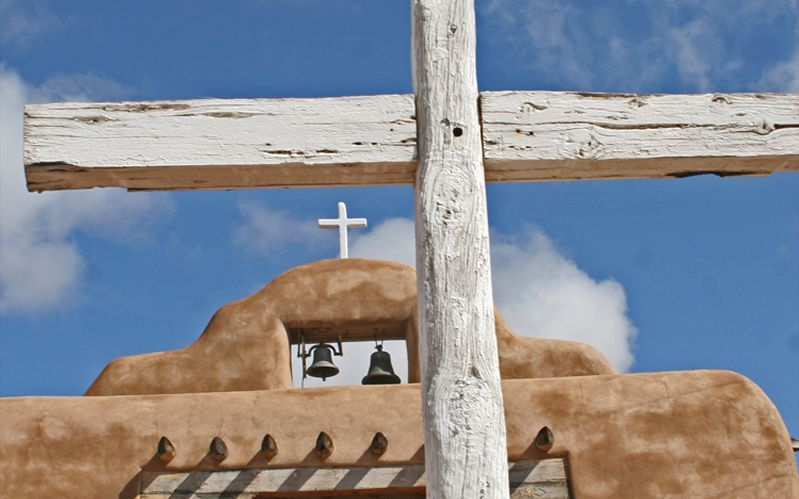 Church in Abiquiu New Mexico