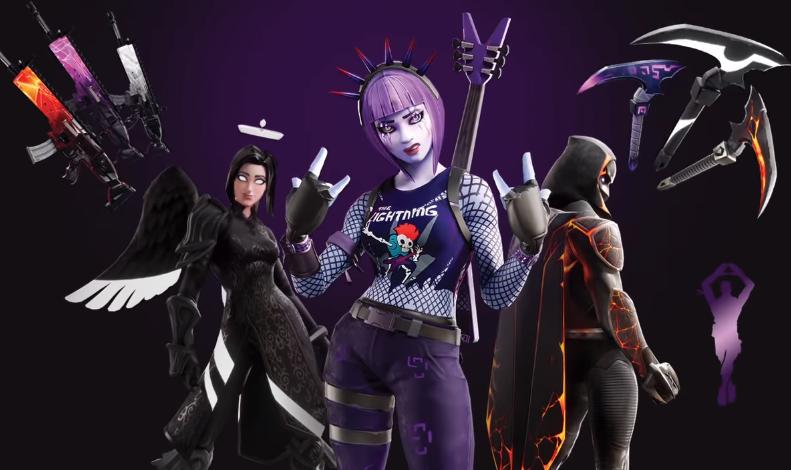Epic Games Launches Fortnite Darkfire Bundle Fortnite Epic Games Dark Power