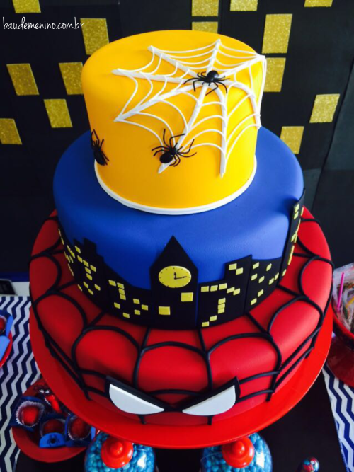 Festa Homem-Aranha do Daniel | homem aranha