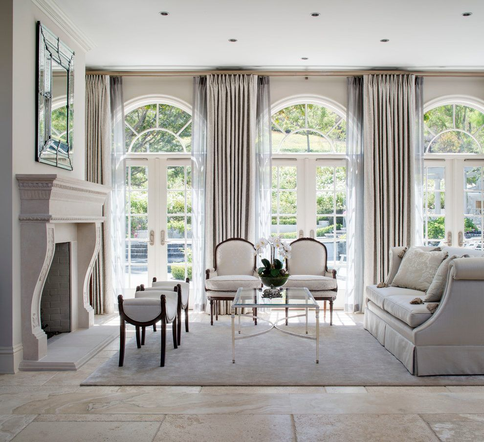 French Provincial Living Room - talentneeds.com - | French windows ...