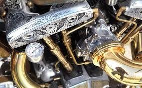 Znalezione obrazy dla zapytania moto steampunk