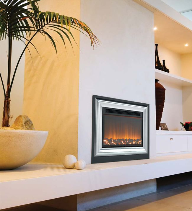 Whitwell 511-R Large Frame Hole In The Wall Electric Fire, From ...