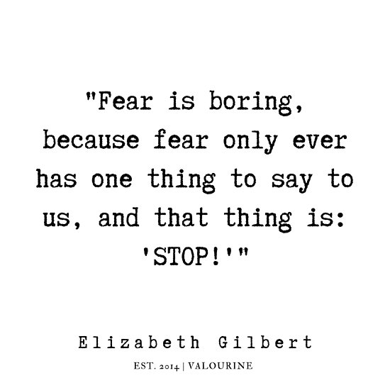 10 | Elizabeth Gilbert Quotes | 190718 Poster by QuotesGalore