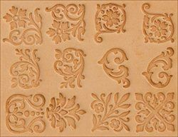 Craftool Floral Stamp Set 40