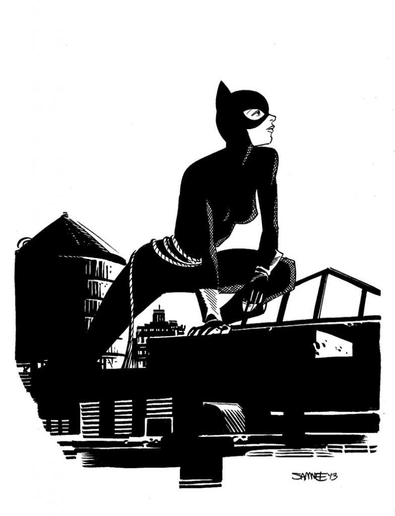 Chris Samnee: Catwoman