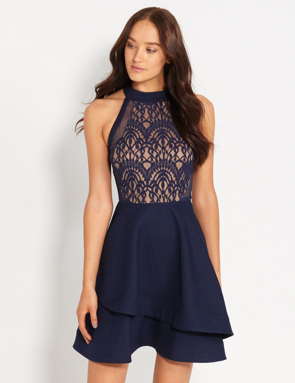 Red Alert Lace Bodice Dress | Dotti | My Wish List ♥ | Pinterest