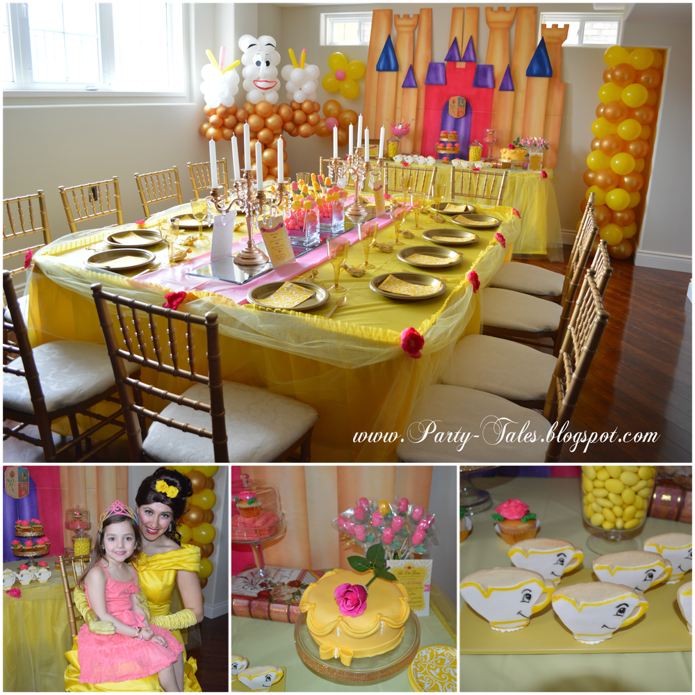 Belle Beauty and The Beast  | CatchMyParty.com