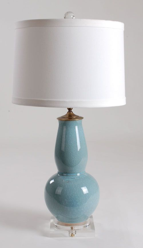 Lamps Vintage Candlestick Floor Lamp Crackle Glass Ball