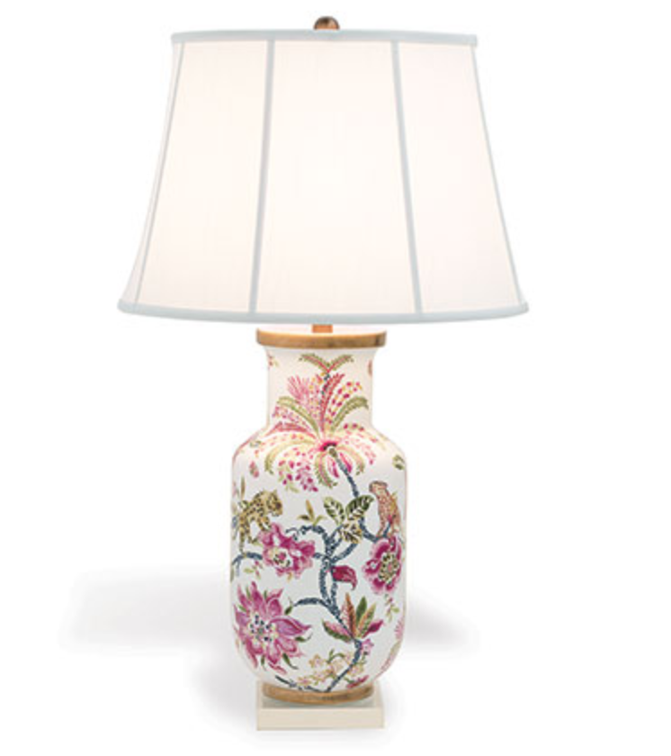 Braganza Lamp Lamp Printing On Fabric Country Cottage Style