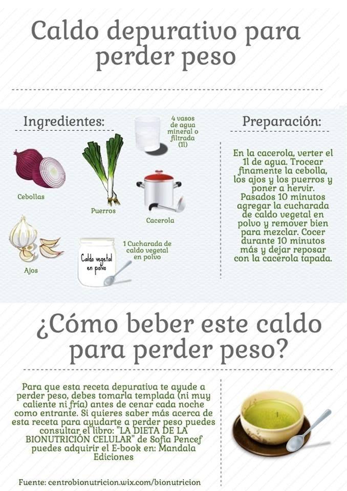 Depurativos naturales para bajar de peso