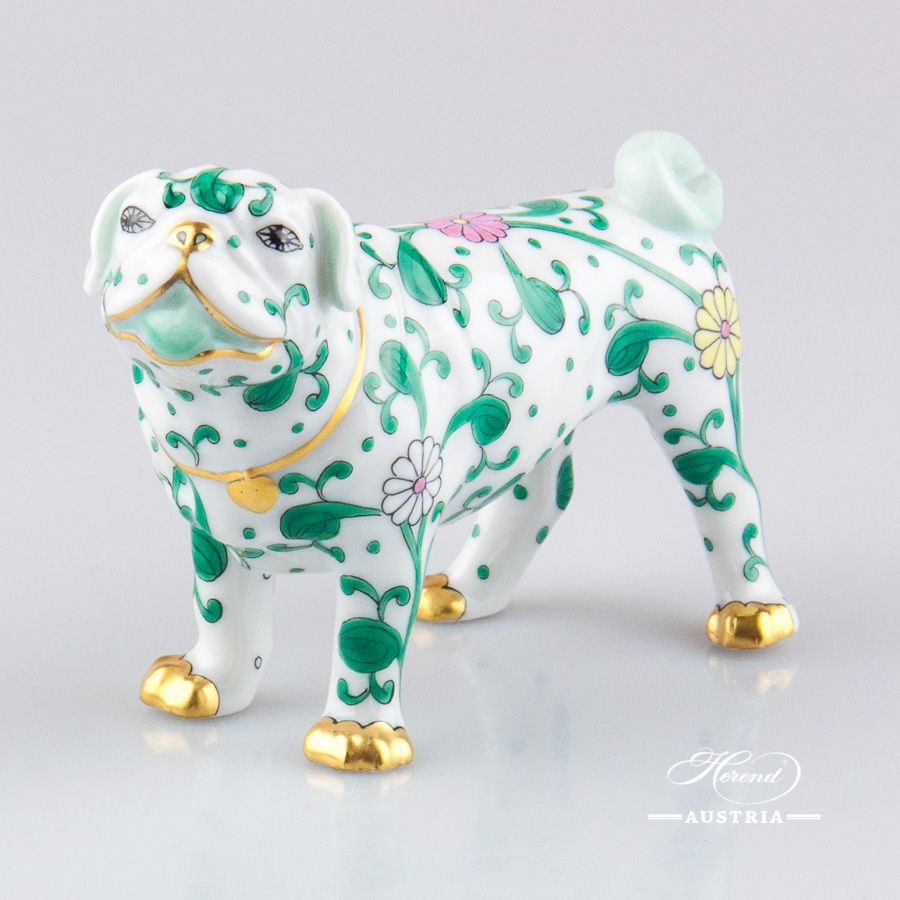 Dog - Pug Lola in 2019 | Dogs for Herend lovers | Cold porcelain