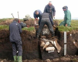 Excavation of the 4,000 year old burial cists on Dartmoor [Credit: PA]    An archaeological find on Dartmoor is exciting academics from around the world – Martin Hesp has been finding out why the 4,500-year-old remains have been given international importance.