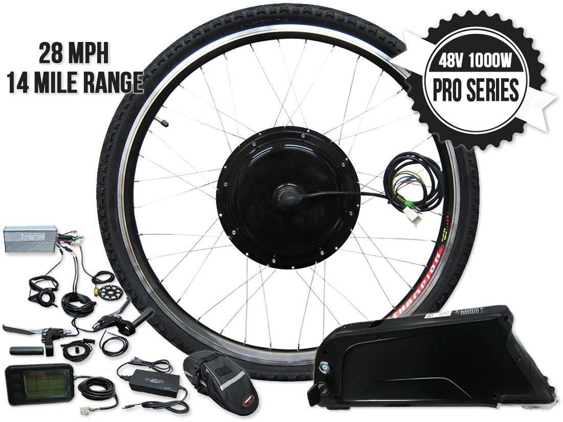 Gigabyke Complete 26 Inch 48v 1000w Pro Series Front Wheel E Bike Kit Battery Electric Motor Kits Bicyc E Bike Kit Bicycle Engine Kit Electric Bike Kits