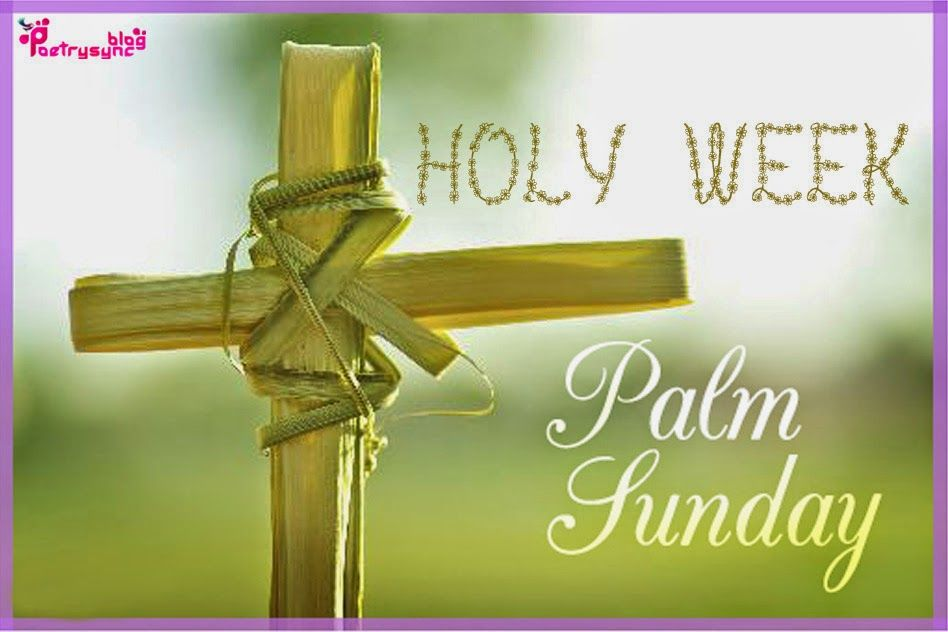 palm sunday quotes | holy week and palm sunday quote picture