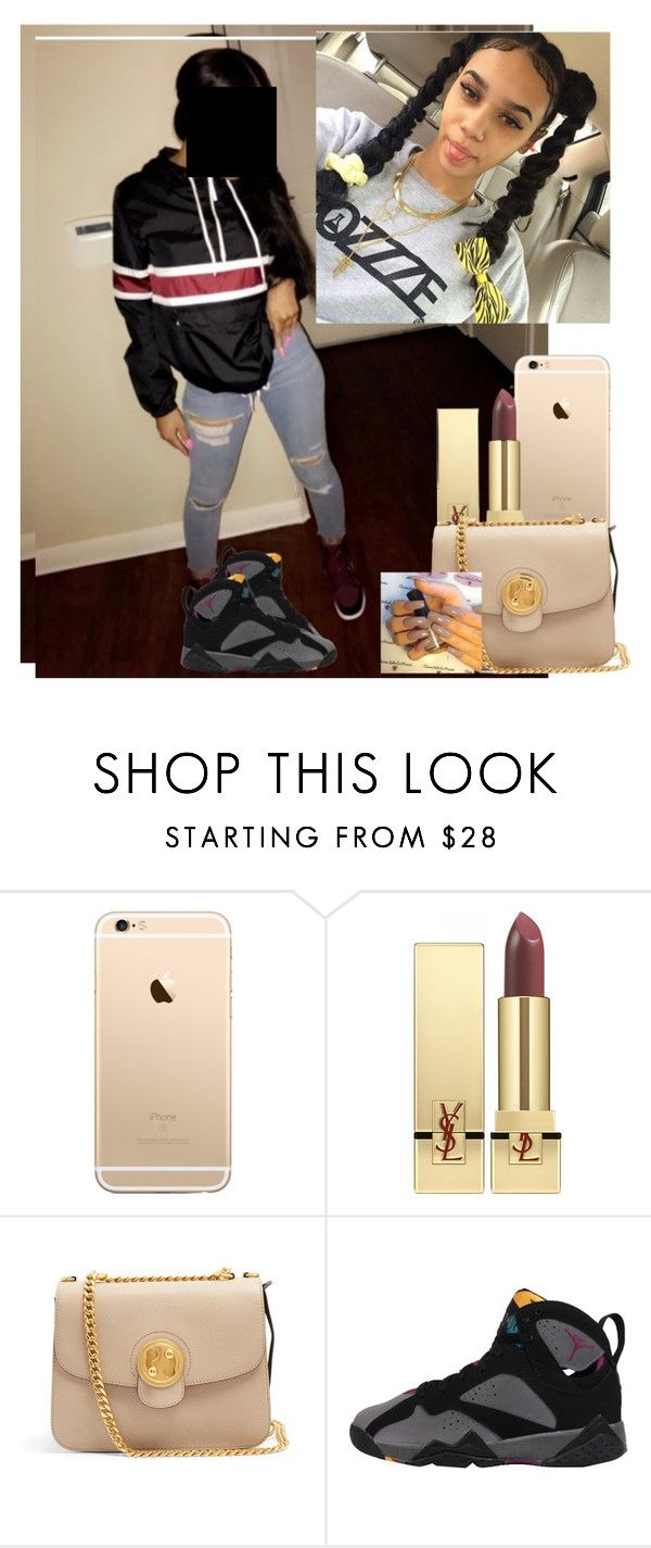 """//"" by melaninmonroee ❤ liked on Polyvore featuring Yves Saint Laurent and Chloé"