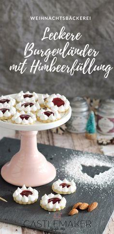 Zarte Mandelplätzchen als Hildabrötchen und Burgenländer Rezept #homemadesweets