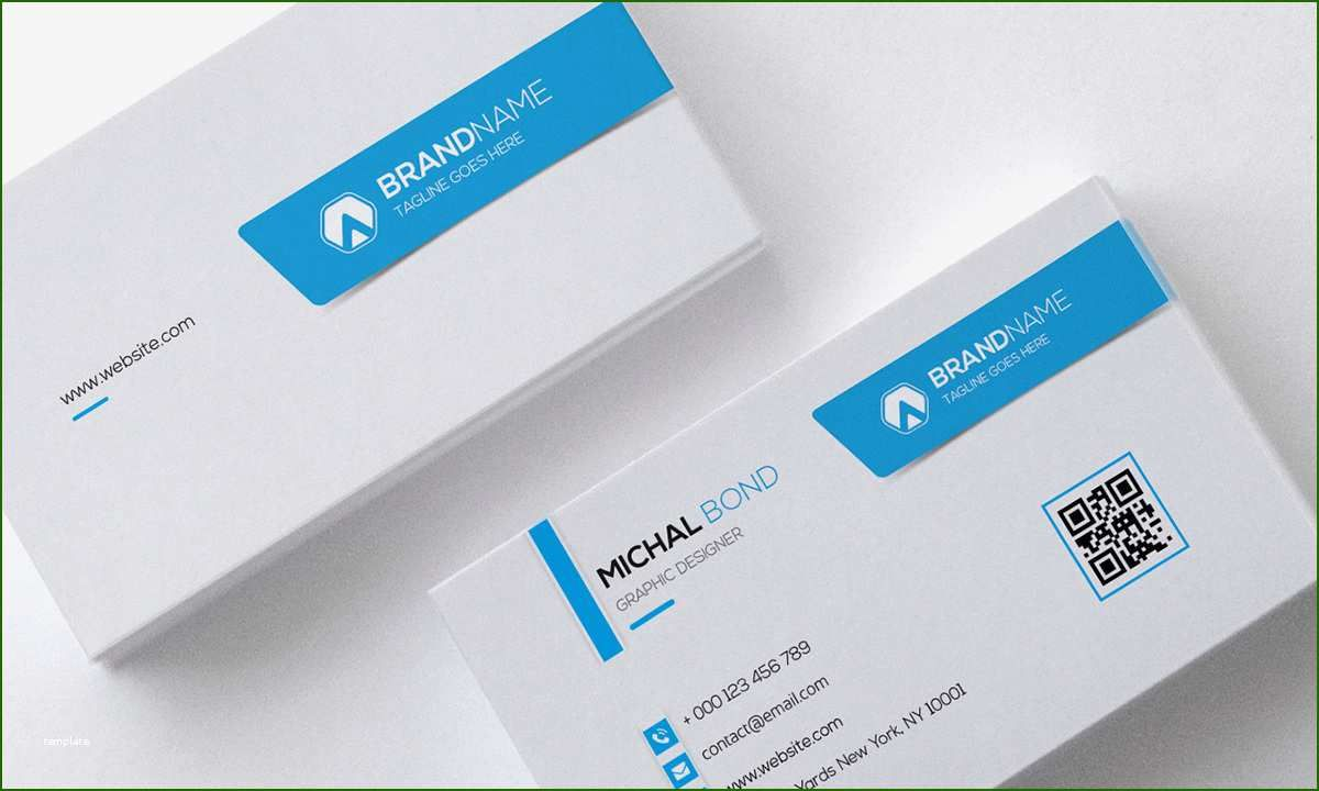 firstrate professional business card template for 2020 in