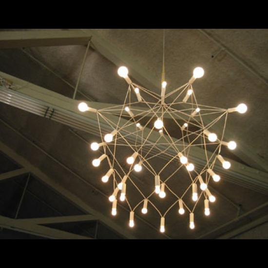 $600 Patrick Townsend White Orbit Chandelier - Pendant L&s - Lighting - Category & $600 Patrick Townsend White Orbit Chandelier - Pendant Lamps ...