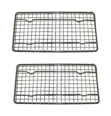 Heavyduty Cooling Rack Cooling Racks Wire Pan Grade Commercial Grade Ovensafe Chrome 4 X 8 Inches Set Of 2 Click Image For More Cooling Racks Oven Safe Racks