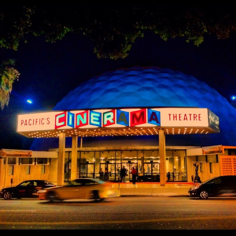 The Cineramadome, now the ArcLight.