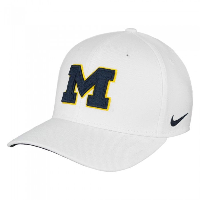 0b17a685255 University of Michigan 2017 Nike Dri Fit Classic 99 Swoosh Flex Fit Hat At  Campus Den