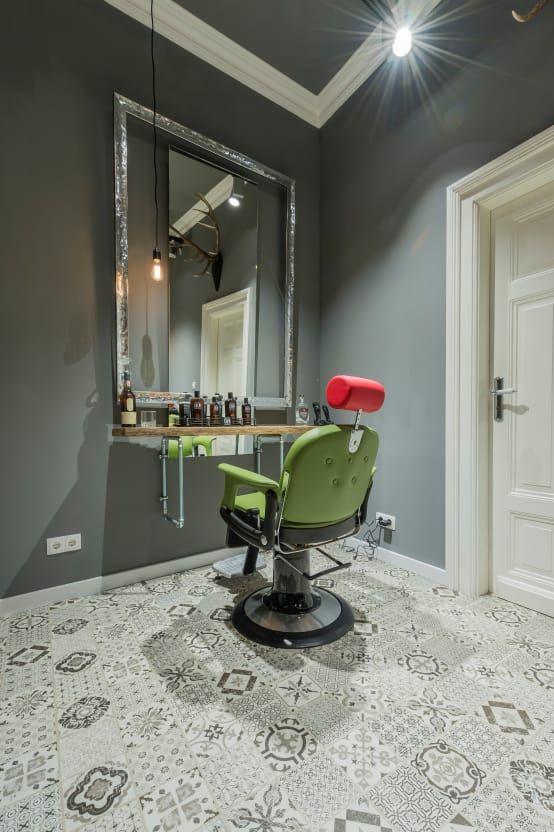 Innenarchitekten Aus Dusseldorf Verbinden Barbershop Und