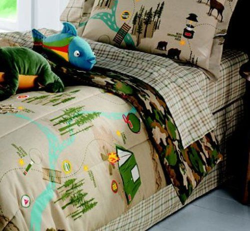 Kreative Kids Camp Themed Bedding So Cute Camping