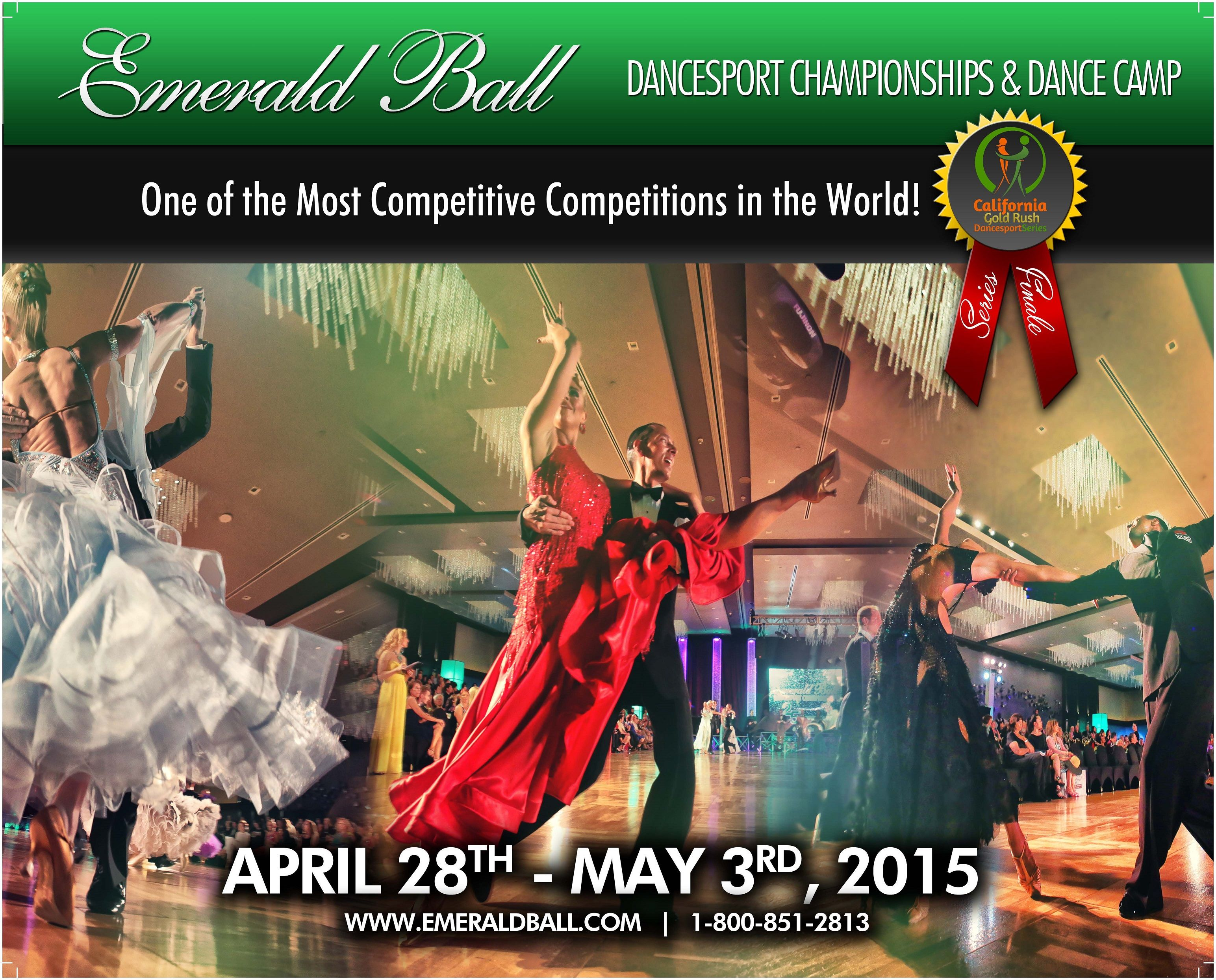 A big shout out to one of my graphic designer Ashley Witter . I love this new Emerald Ball ad she just created for the 2015 Dance Vision Catalog.  Over 4,000 Ballroom instructional videos online at www.DanceVision.com