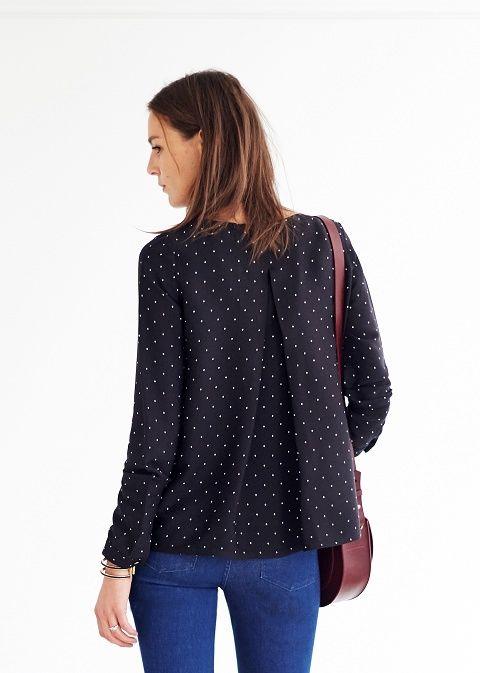 Sezane - blouse Alto AH 2015 | COUTURE \'