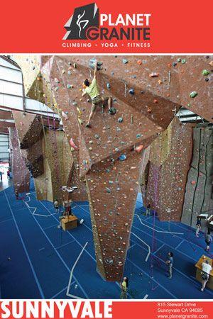Planet Granite New Rock Climbing Gym Portland Oregon Planet Granite Climbing Yoga Fitness Sunnyvale Climbing Gym Area Activities